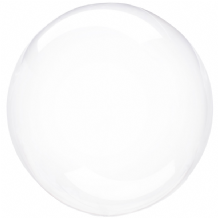 "Crystal Clearz Balloon - Clear Crystal Clearz (18"") 1pc"